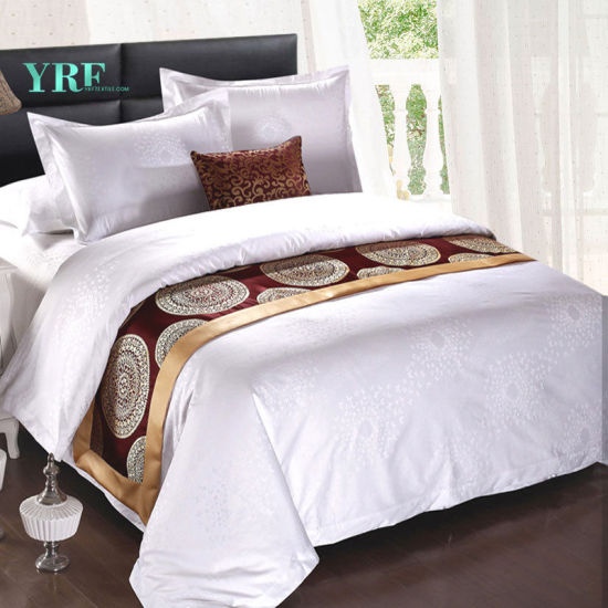 Yrf Wholesale Luxury Cotton 100% Bed Sheets Fitted 5 Star Hotel Linen