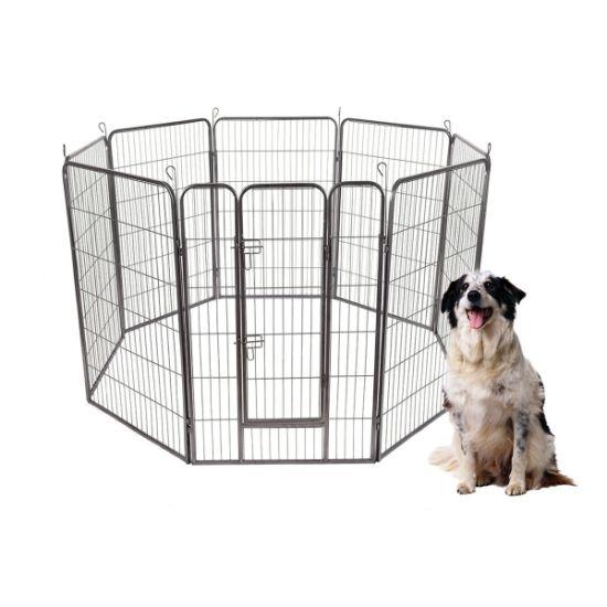 China 48403224 High 8 Panels Pet Playpen Dog Pets Fence