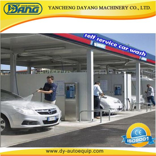 2018 Ce Coin /Card Operated Self-Service Self Service Car Wash Equipment  Station
