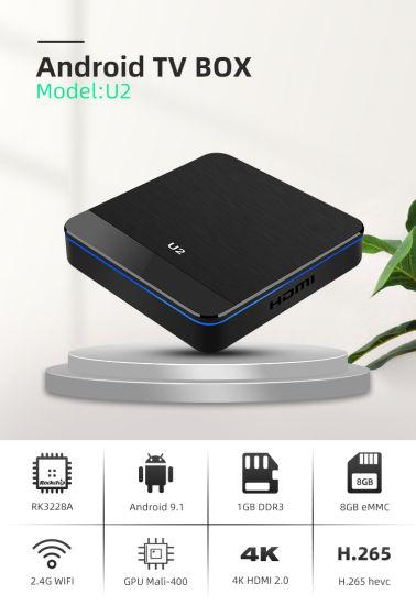 Rk3228A 4K Android TV Box 1g RAM 8g ROM Set Top Box