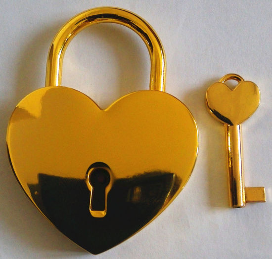 Christmas Padlock, Gifts Lock, Padlock. Golden Padlock, Al-G030 pictures & photos