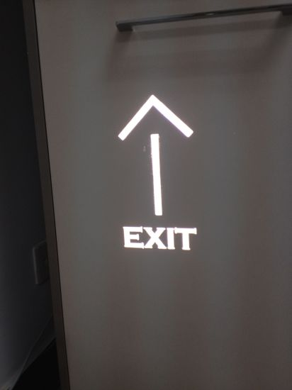 LED Emergency Exit Sign Projector pictures & photos