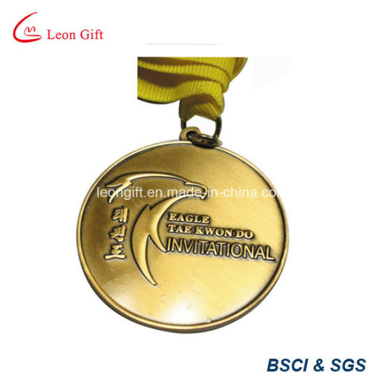 Custom Sport Medal Antique Brass Plated pictures & photos