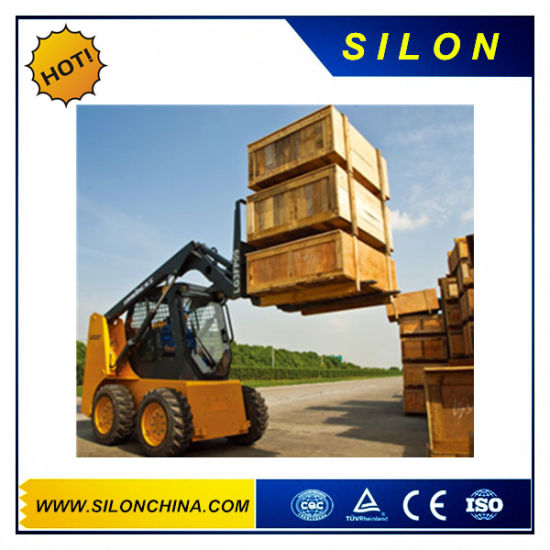 Skid Steel Loader for Longking Cdm308 pictures & photos