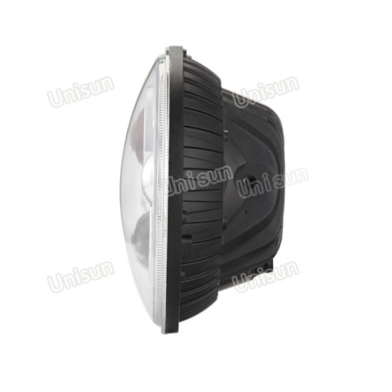 7inch 12V 24V 70watt Round CREE LED Headlight pictures & photos