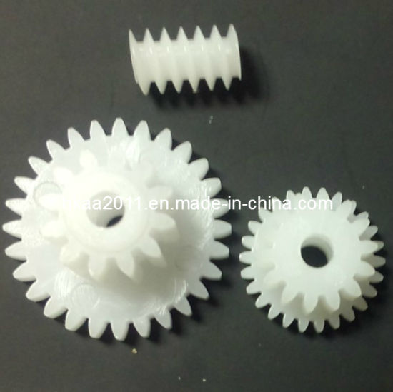 Small Toy Plastic Micro Nylon Injection Worm Wheel Gear Manufacturer