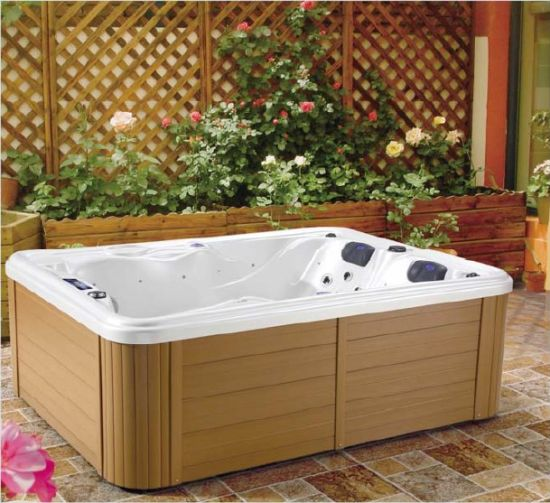 China Portable Walk in Bathtub Whirlpool Double Hot Tub Jacuzzi ...