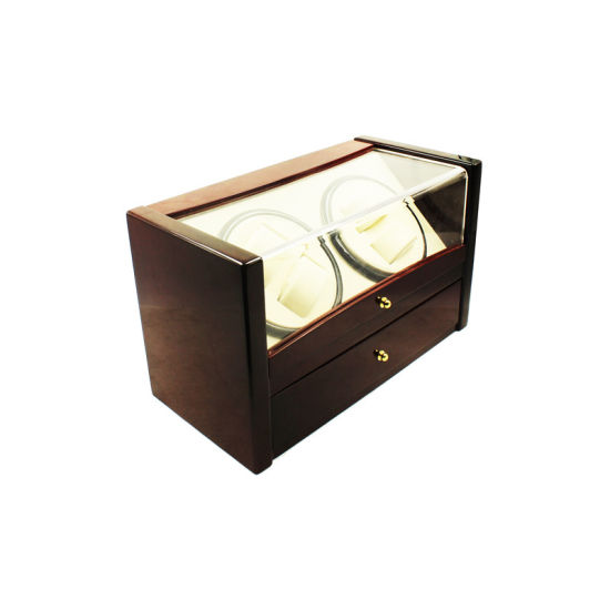 Automatic (4+6) Slots Wooden Watch Winder pictures & photos