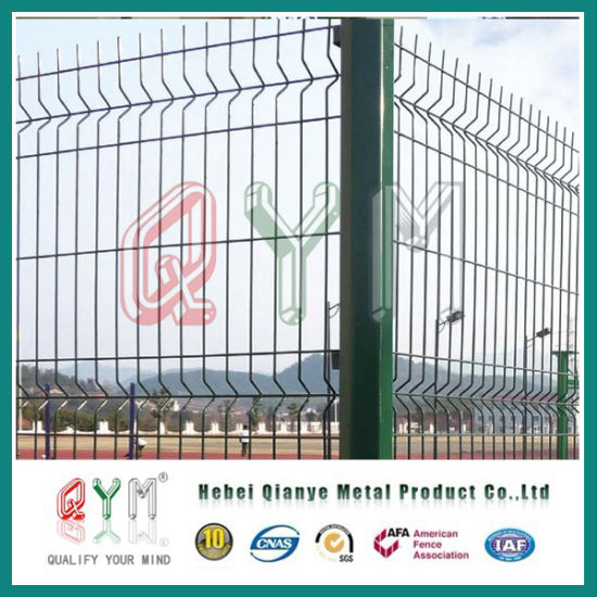 China 3D Wire Mesh Fence/Curvy Welded Wire Mesh Fence with 3 Folds ...