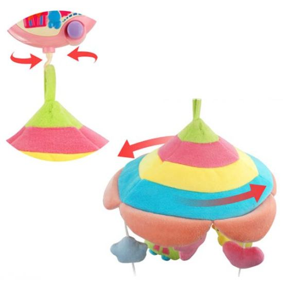 2015 Newest B/O Baby Bed Prodcuts Plush Bed Toys with Music and Light (10220296) pictures & photos