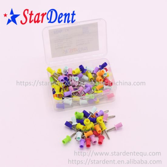 Dental Polishing Material Tool Disposable Polishing Brush Dental Rubber Prophylaxis Cleaning Cup pictures & photos