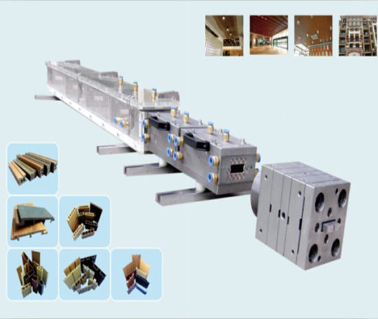 3cr17 SS Material PVC WPC Plastic Extrusion Mold for Profile
