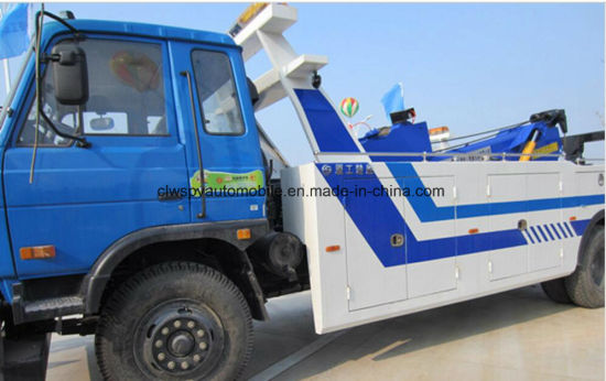 Hot Sale Wrecker Rhd Road-Block Removal Truck Price pictures & photos