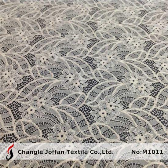 Fashion Raschel Elastic Lace Fabric (M1011)