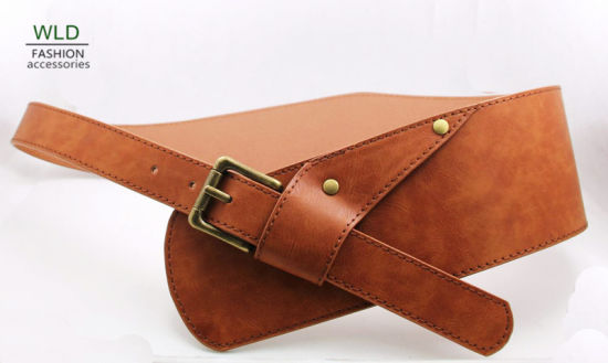 New Style Brown Color Waist Belt Ky5920