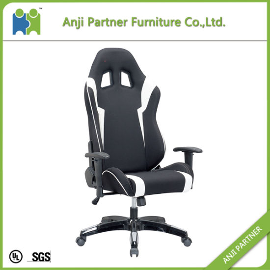 Computer Video Gaming PU Leather Swivel Base Reclining Chair (Colt)