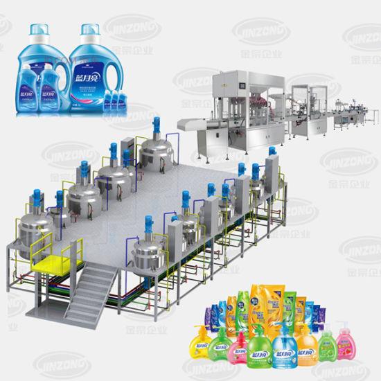 Jinzong Machinery Liquid Detergent Producing Machine