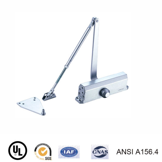 Die-Cast Aluminium Industrial Heavy Duty Size Door Closer/Sliding Door Hardware with Link Arm