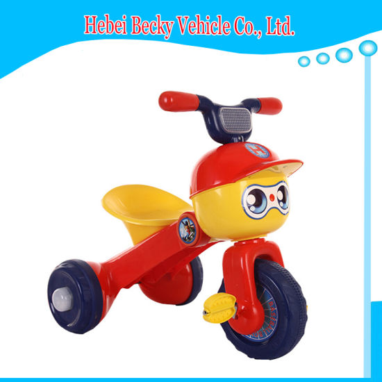 China New Model Child Foldable Tricycle Kids Trike Ride On Toy