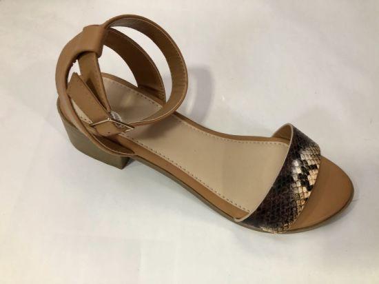 New Style Lady Sandal 2021 Summer Season Dress Shoes