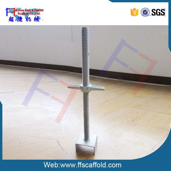 Scaffolding Asjustable Screw Jack Base (FF-B005A) pictures & photos