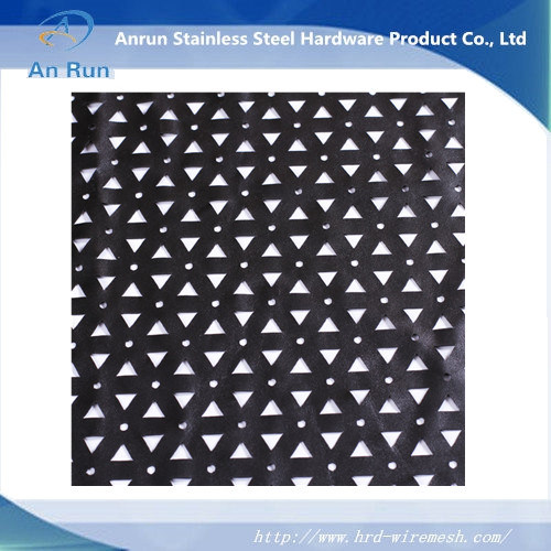 Black Coated Perforated Metal Sheet pictures & photos