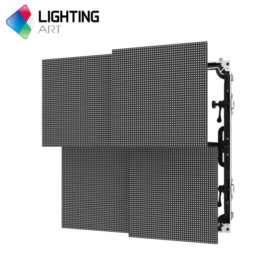 Turbine Series P4 81 Die Cast Aluminum Cabinet LED Video Wall Rental Price