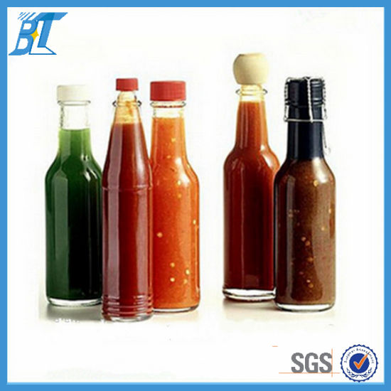 Food Grade 150 Ml 180 Hot Sauce Bottles Pepper Gl