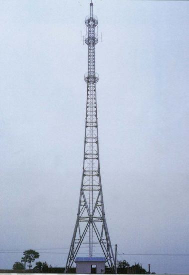 Production Export High Quality Angle Steel Telecom Tower pictures & photos