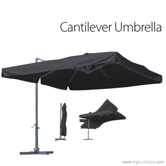 Waterproof Polyester Banana Cantilever Umbrella pictures & photos