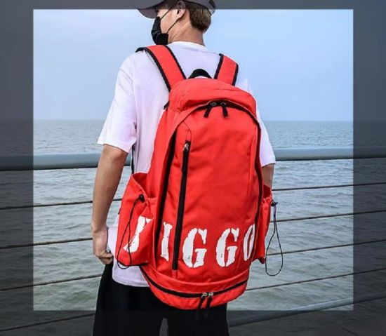 Large Capacity Men′s High School Fashion Bag University Students Backpack Women′s Travel Backpack Esg17205 pictures & photos