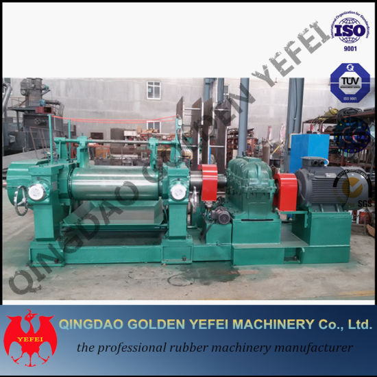 Xk-400 Two Roll Open Mixing Mill for Reclaimed Rubber pictures & photos