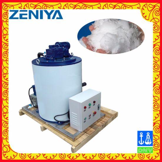 Medium Flowing Ice Making Flake Ice Machine for Food Processing