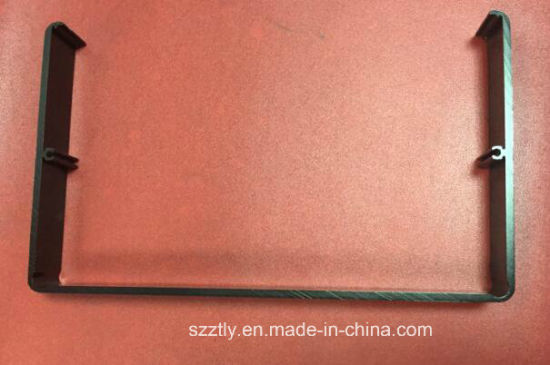 6063 Sanding Natural Anodized Aluminum Extrusion Profile pictures & photos