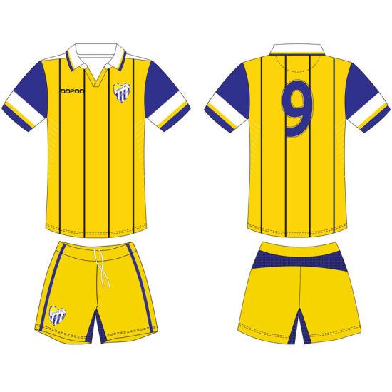 19fc6ca14ef China Custom Team Sublimated Football Soccer Uniform as Your Design ...