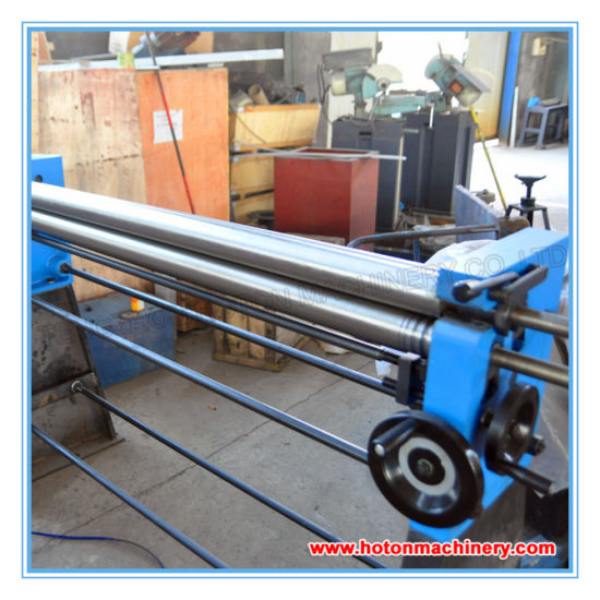 Sheet Metal Rolling Machine (Manual Slip Roller W01-2X1250 W01-2X1000 W01-2X610) pictures & photos