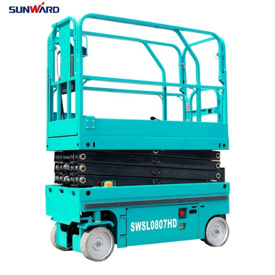 Aerial Work Platform Electric Self-Propelled Power Operated Scissor Lift
