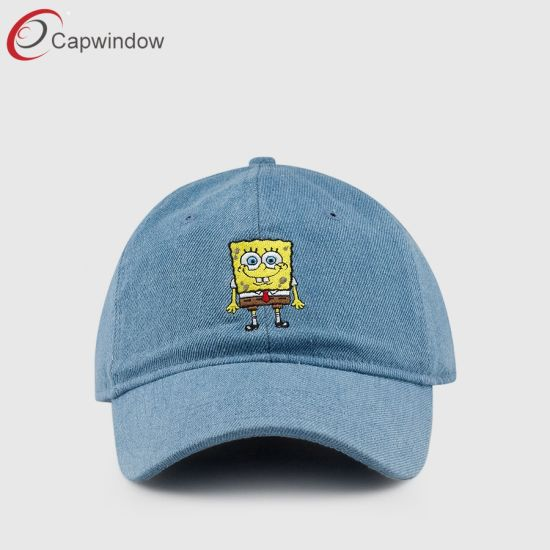 2586fc21943d2 Fashion Dad Hat in Demin Fabric with Customized Logo (65050099) pictures    photos