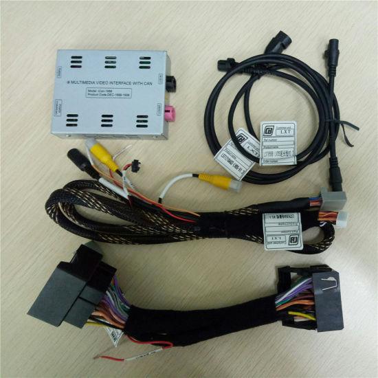 China Car GPS Reversing Camera Interface for VW Golf/ Skoda