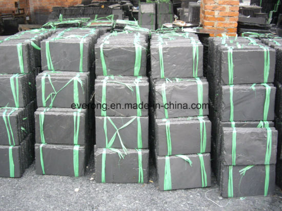 Grey /Black/Yellow/Green Slate for Roofing, Flooring and Wall pictures & photos