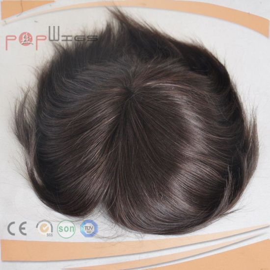 Dark Brown Lace Front Hair Piece (PPG-l-01353) pictures & photos