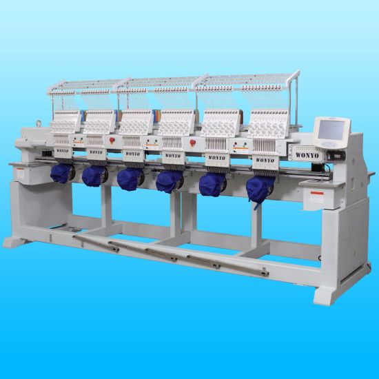 Wonyo 6 Head Computer Embroidery Machine for Logo Embroidery