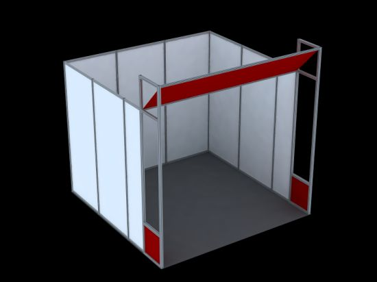 Exhibition Booth Installation : China fast setup octanorm system modular exhibition booth china