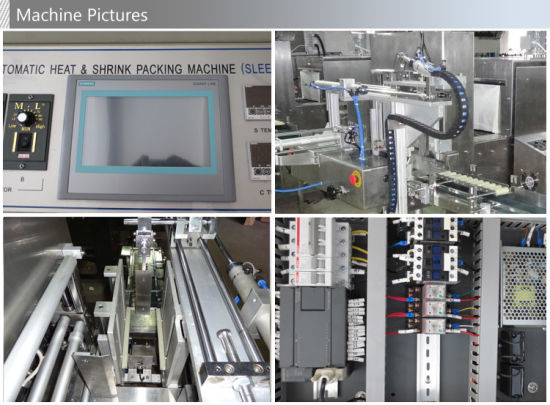 Automatic PE Film Sleeve Sealing Heat Shrink Packaging Machine pictures & photos