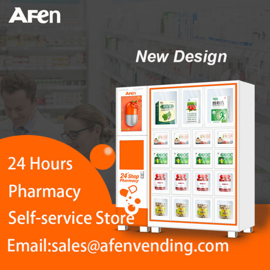 Afen 24 Hour Self Service Automatic Pharmacy Store Medical Locker Vending Machine