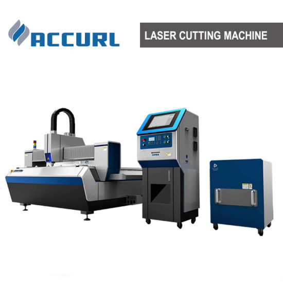 500W CNC Fiber Laser Cutting Machine for 2.5mm Stainless Steel