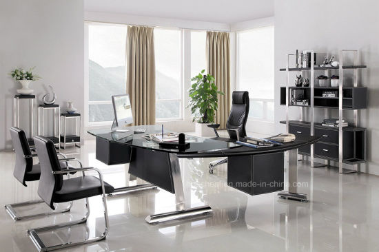 Modern Chinese Furniture Office Manager Desk (AT013) pictures & photos
