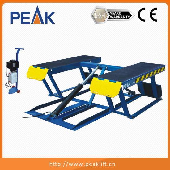 China Hydraulic Cylinder Portable Car Lift For Home Garage Lr06