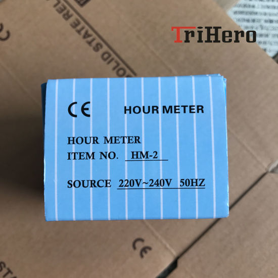 China Hm-2 Quartz Fully Sealed Hour Meter - China Hour Meter
