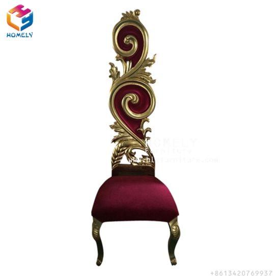 Popular Throne Fancy Royal Outddor Wedding King Chairs